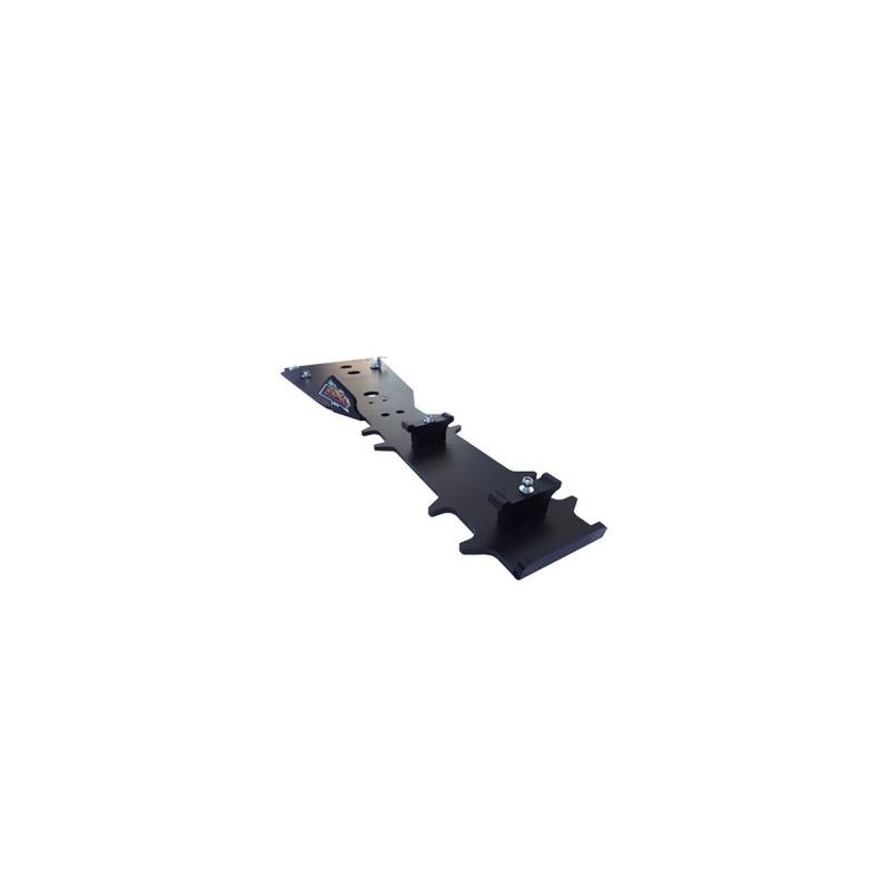 protection poutre centrale en phd  8 mm pour can am renegade