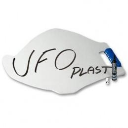 Panneautage UFO blanc avec...