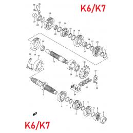 BOITE DE VITESSE K6/K7
