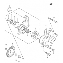 POMPE A EAU (Modèle k4)