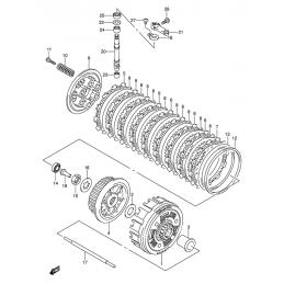 EMBRAYAGE (modèle k5 / k6 /...