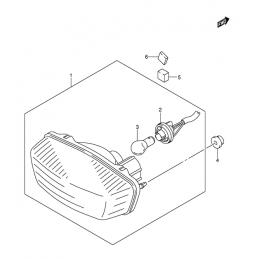 FEU ARRIERE (Modèle K3/K4)