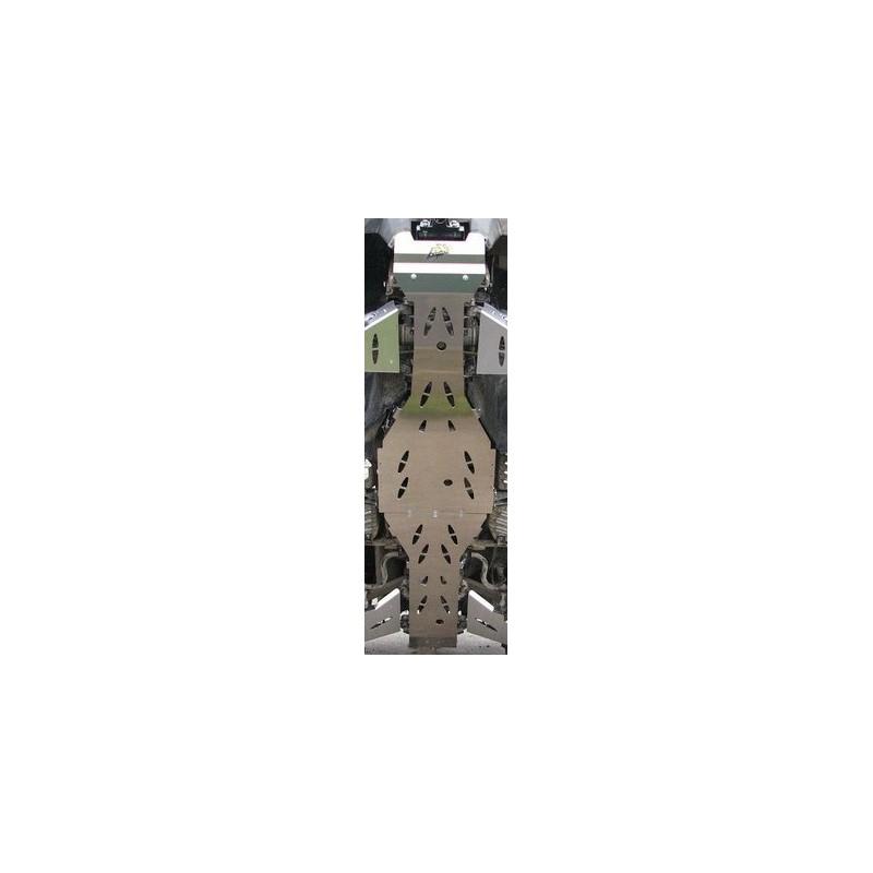 sabot central axp alu (6mm) pour suzuki king quad :450.700.750
