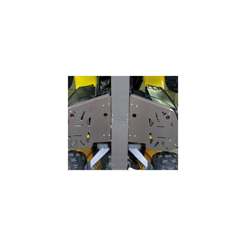 AXP protection de marche pied    alu 4mm  sportsman ho ou touring , 500 ou 800
